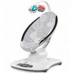 2016 / 2017 4moms Mamaroo Bouncer Infant Seat - Silver Plush