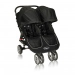 Baby Jogger City Mini Lightweight Easy Fold Double Stroller Black
