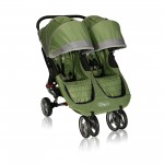 Baby Jogger City Mini Lightweight Easy Fold Double Stroller Green/Gray