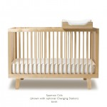 Oeuf Sparrow Crib - Birch