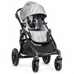 Baby Jogger City Select Stroller - Black/Silver