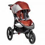 Baby Jogger Summit X3 Stroller - Orange/Gray