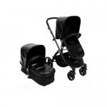 Baby Roues Classique Croco Black - Frosted Frame