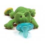 WubbaNub Baby Green Frog Infant Pacifier