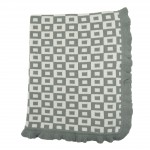 Magnolia Line 100% Natural Cotton Knit Blanket - Boxes