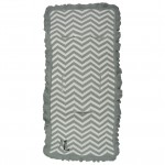 Magnolia Line Heirloom Cotton Stroller Liner Chevron