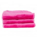 Blooming Bath Petals Baby Bath Washcloths Hot Pink 3 Pack
