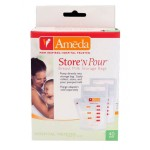 Ameda Store 'N Pour Breast Milk Bags 20 Count