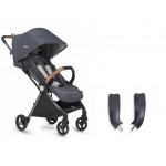 Silver Cross Jet Special Edition Stroller and Car Seat Adapter Set - Orkney