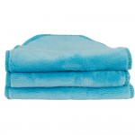 Blooming Bath Petals Baby Bath Washcloths Turquoise 3 Pack