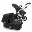 Bugaboo Buffalo Stroller (Base and Tailored Fabric Sets) - Pre-Order - Black/Black