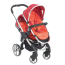 iCandy Peach Blossom Stroller with Second Seat and Attachment - Tomato