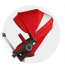 Stokke Xplory V4 Stroller with Bassinet and Free Nuna Car Seat Travel System - Purple